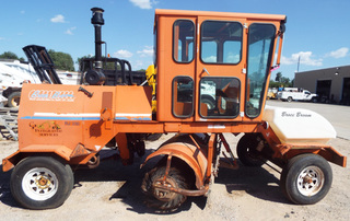 RJ 350 Broce Broom with cab, water tank, 7' brush