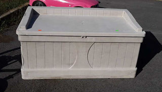 Lot# 5 - Suncast Patio Storage Trunk, ni