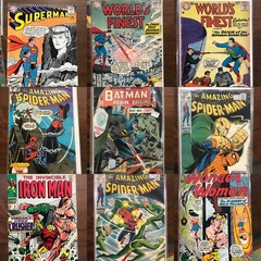 Rare Early Comic Books