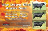 THE DOWN EAST ANGUS SALE