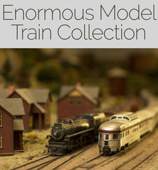 Closed and Sold Enormous Model Train Collection - Cal Auctions Cal