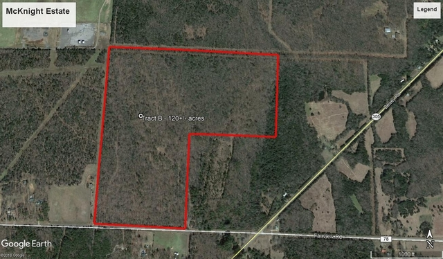 120+/- Acres on Fairview Rd.