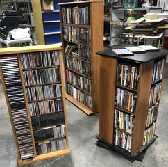 Huge Selection of Over 500 DVD's, Blue Ray Movies and Music CD's