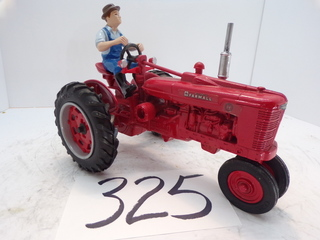 Farmall H With Driver