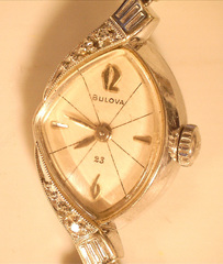 Two Women's Wrist Watches w/Chain Latches