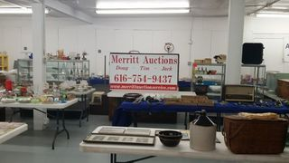 view before the auction block
