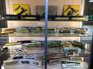 Model Railroad Train Collection