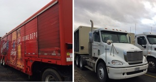 Internet Bidding Only Auction- Truck and Trailer Auction in Montreal Canada -- Surplus from A Major Beverage Company