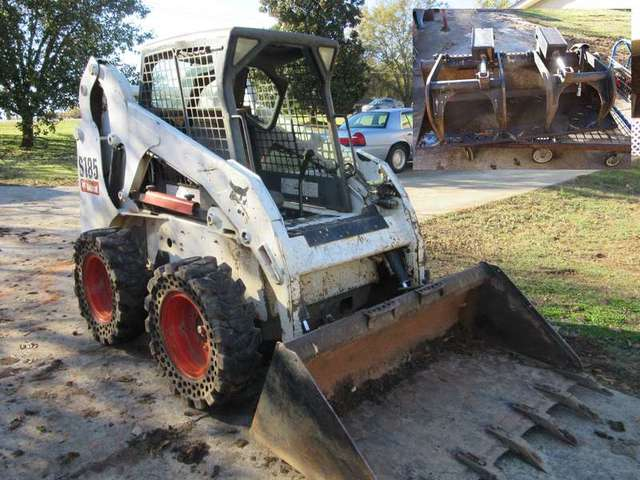 Bobcat and Grapple: