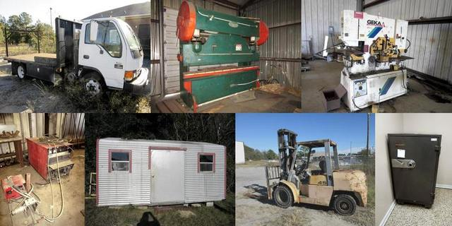 Steel Fabrication Liquidation Auction: