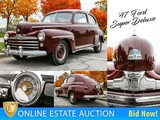 Classic Ford Auction: 1947 Ford Super Deluxe