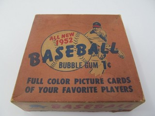 Bowman Baseball Card Collection Parrott Real Estate Auction Company