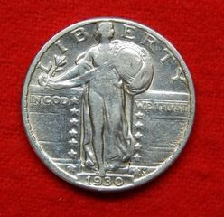Lot# 3 - 1930 Standing Liberty Silver Qu
