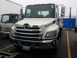 USED 2O16 HINO 258 VULCAN 21' FLATBED STEEL CAR CARRIER FOR SALE