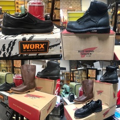 Red Wing Work Shoes for Men