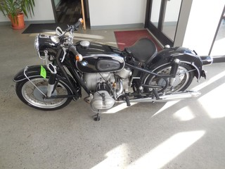 1965 BMW Motorcycle