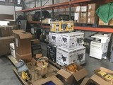 GENERAL MERCHANDISE/ HANDLING EQUIPMENT / PALLET RACKING / FIREARMS / MORE
