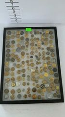 Lot# 5 - Display of metal buttons