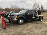 USED 2017 FORD F550 EXTENDED CAB JERRDAN AUTOLOADER FOR SALE IN MI