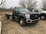 USED 2016 FORD F550XL FLATBED AUTOLOADER FOR SALE IN MI