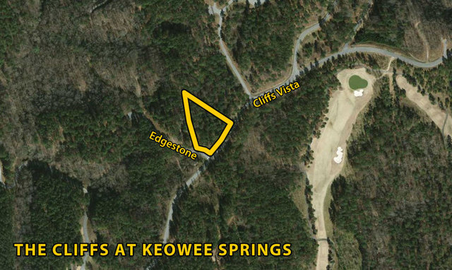 Lot at The Cliffs at Keowee Springs: