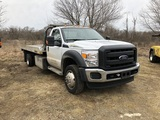 USED 2016 FORD F550 FLATBED AUTOLOADER FOR SALE IN MI