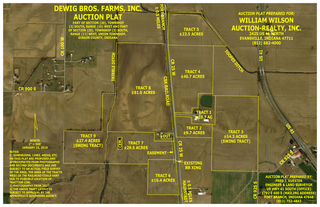 293.2 +/- ACRES PRIME GIBSON COUNTY LAND