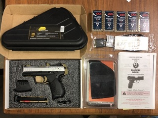 RUGER SR22 - Brand New, Never Fired MODEL NUMBER: 3607 CALIBER: 22 LR