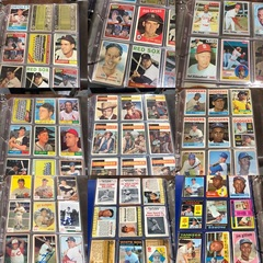 Old Baseball Cards, 1950's, 1960's, 1970's