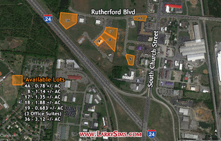 3.12 +/-AC Zoned L-I - Southpointe Business Campus Lot #36