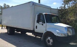 2005 International 4300 DT466 Box Truck