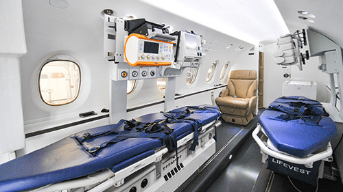 USED 2015 SPECTRUN AEROMED AIR AMBULANCE MEDICAL EQUIPMENT FOR SALE