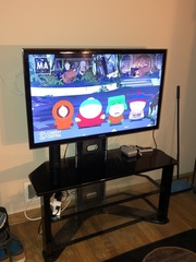 "Samsung Model UN46D600 46"" HD TV w/ Stand"