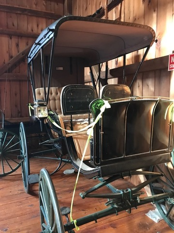 Horse draw carriages