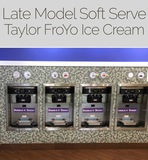 INSPECT WEDNESDAY SHORT NOTICE Taylor Soft Serve Machines Online Auction Derwood, MD