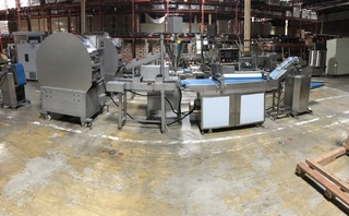 Available Now! NEW Complete Anko Spring Roll & Egg Roll Production Lines