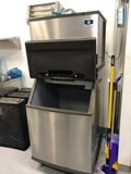 USED 2018 MANITOWOC MODEL ID0502A ICE MACHINE FOR SALE IN NH