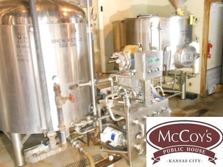 Online Only Auction: Microbrewery Closed! McCoys Public House in KC MO
