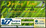 Spring Time Machinery Consignment Auctin