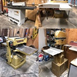 Commercial Woodworking Equipment Timed Estate Auction