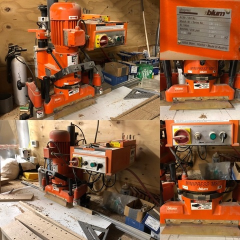 Commercial Woodworking Equipment Timed Estate Auction - The