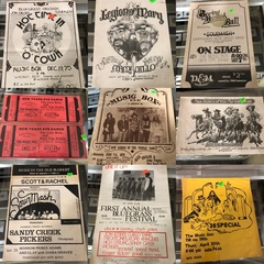 Vintage Omaha Concert Posters