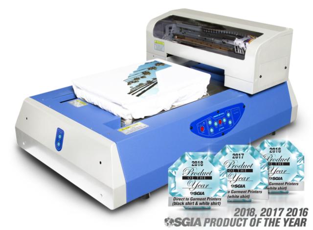 USED 2018 OMIPRINT FREEJET 330TX PLUS GARMENT PRINTER FOR SALE IN MI