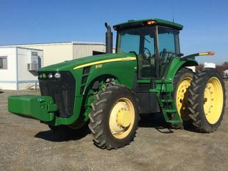 JD 8130 TRACTOR MFWD