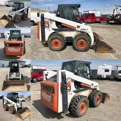 Bobcat Skid Loader w/ Attachments