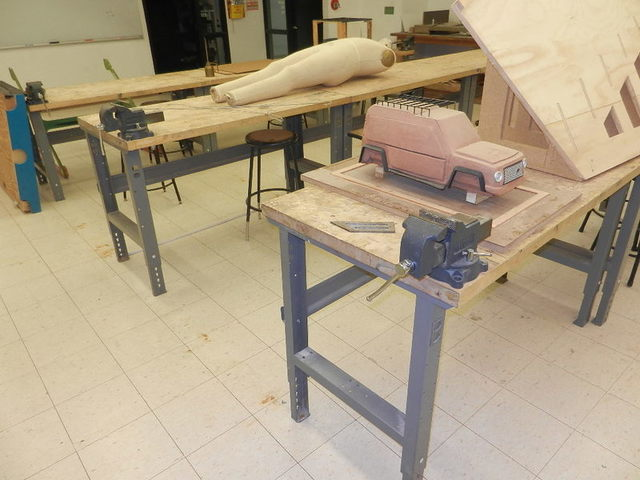 Industrial Design Department & Woodworking Shop at The Art Institute of Fort Lauderdale