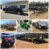 Vehicles featuring a 2016 Denali Truck, Lawn Mowers, Boats, RV's, Campers