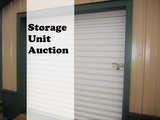 Storage Unit Auction-CANCELED