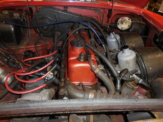 MGB engine