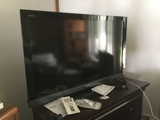 "44"" Sony Flat Screen TV"